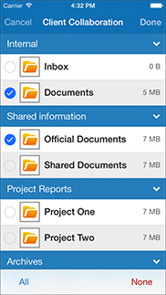 TeamEngine för iPhone app - Skärm 3 (utvecklad av Appego)