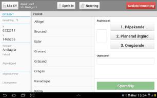 Linsen  app - Skärm 2 (utvecklad av Appego)